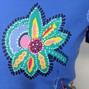 Talbots Dresses - Talbots Polished Cotton Floral Dress